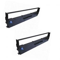 ProDot Ribbon Cartridge for Epson-LX/LQ-310 Dot Matrix Printer (Black, Pack of 2)