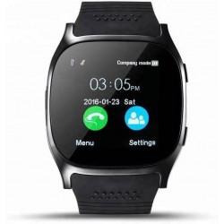 AIRTREE T8 smartwatch BLACK Smartwatch (Black Strap regular)