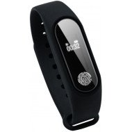 AirTree M2 Fitness Smart Band (Black Strap, Size : Free)