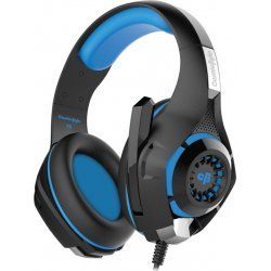 Cosmic Byte GS410 Wired Headset   (Black/Blue, Wired over the head)