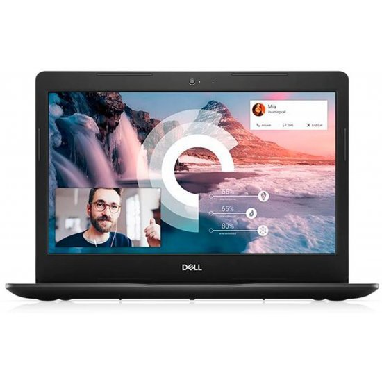 DELL Vostro Core i3 10th Gen - (4 GB/1 TB HDD/256 GB SSD/Windows 10 Home) Vostro 3491 Thin and Light Laptop (14 inch, Black, 1.66 kg, With MS Office)