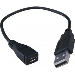 Morpho 1300 E2, E3 OTG Cable (Morpho 1300 E2, E2, Laptop, Tablet,, Black)