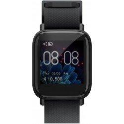 Gizmore GizFit 902 Smartwatch (Black Strap, Regular)