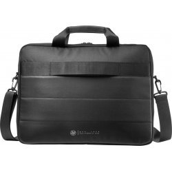 HP 15.6 Classic Briefcase Messenger Bag (Black, 18 L)