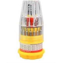 Jackly Ratchet Screwdriver Set (Pack of 31)