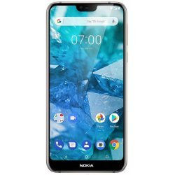 Nokia 7.1 (Steel, 64 GB) (4 GB RAM) Refurbished
