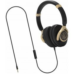 Nu Republic Starboy W Wired Headset (Gold, Black, Wired over the head)