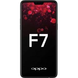 OPPO F7 (Black, 64GB)-Refurbished