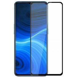 Realme X2 Pro | 11D Anti Scratch 9H Hardness Cover Friendly Anti Shatter Proof Full Edge   (Pack of 1)