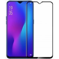 Richuzers Edge To Edge Tempered Glass for Oppo A9 11D   (Pack of 1)