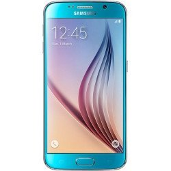 Samsung Galaxy S6 (Blue Topaz, 32GB)-Refurbished
