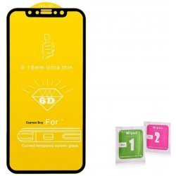 Tempered Glass for Oppo A77 (11D Tempered Glass)(Full Glue Glass)   (Pack of 1)