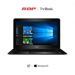 RDP Thin Book -1430 14.1-inch Laptop (Intel Quad Core up to 1.84 GHz / 2GB RAM / 32GB Storage) - Windows 10,(Black)
