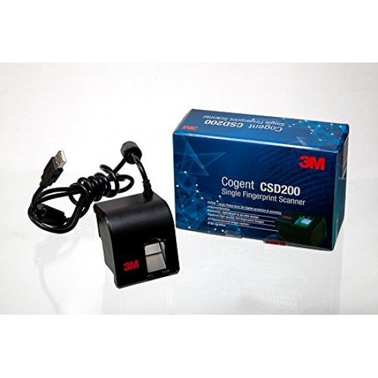 3M Cogent CSD 200 Fingerprint Scanner