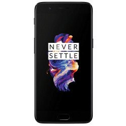 OnePlus 5 (Midnight Black 6 GB RAM + 64 GB memory) Refurbished