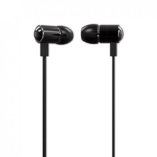 Ambrane EP-20 Wired Headset With Mic - Black