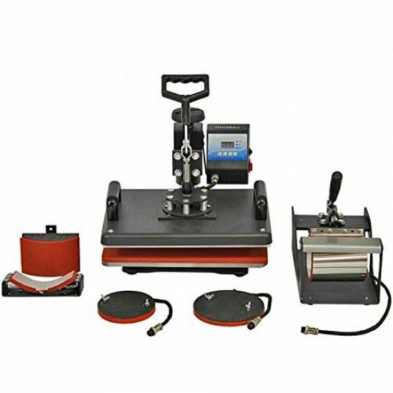 Tirupati Enterprises Combo Heat Press Machine