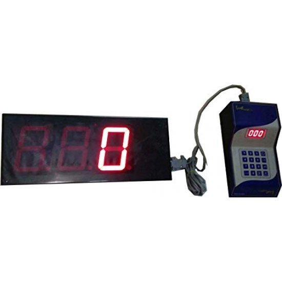 Token display with voice 4 inch character size