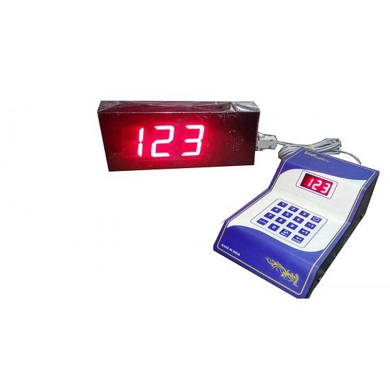 Token display display with voice 2 inch character size