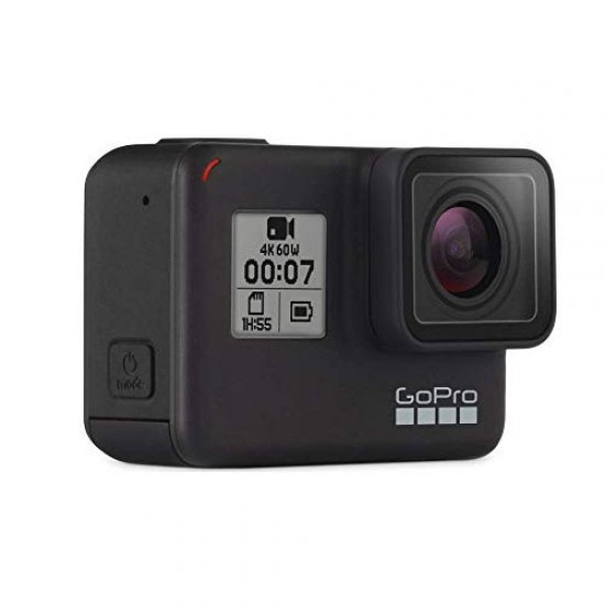 GoPro Hero 7 Black CHDHX-701-RW Action Camera with Dual Battery Charger