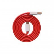 Compatible Dash/Warp Data Sync Fast Charging Cable Supported for All C Type Devices (Red and White)