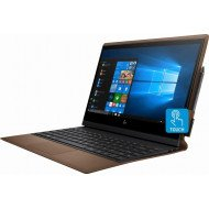 """HP - Spectre Folio Leather 2-in-1 13.3"""" Touch-Screen Laptop - Intel Core i7 - 8GB Memory - 256GB Solid State Drive - Cognac Brown"""