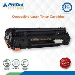 ProDot(Gold Series) PLH - 436 Laser Toner Cartridge Replaces HP 436A, Canon 313/913 (Colour:Black)