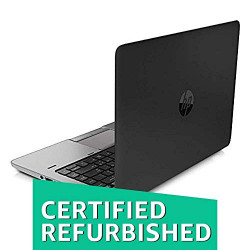 HP Elitebook 840 G1 14-inch Touch Screen Laptop (4th Gen Core i5/4GB/320GB/Windows 10 Professional/Integrated Graphics), Black