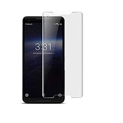 3d screen protector full curved tempered glass full screen coverage for google pixel 2 xl - transparent