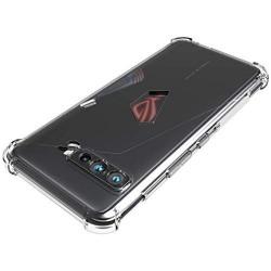 Solid Shock Proof  Protective Transparent Back Cover for Asus ROG Phone 3 Strix-
