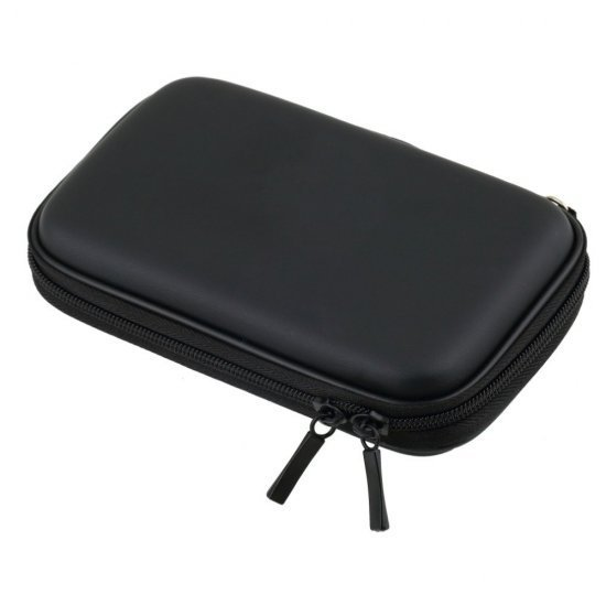 External Hard Drive Case for 2.5-Inch Hard Drive (Black)