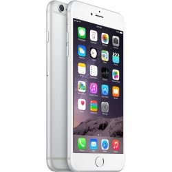 Apple iPhone 6 Plus (Silver, 128 GB) -Refurbished