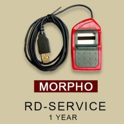 RD Service online Registration & Warranty for Morpho, mantra
