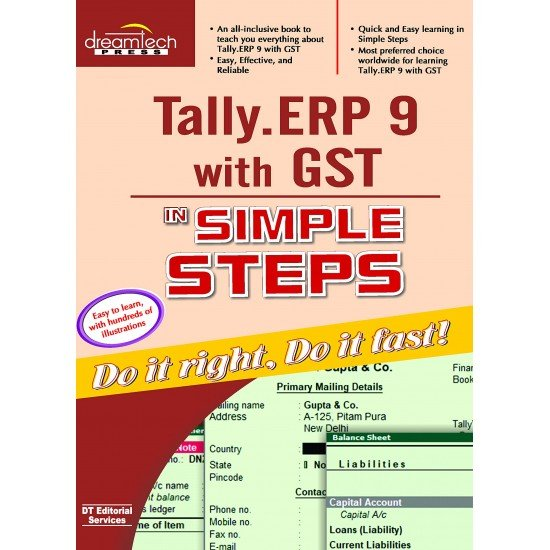 Tally with GST Book Paperback