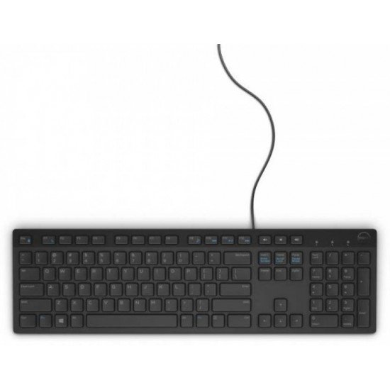 Dell KB 216 Wired USB Desktop Keyboard  (Black)