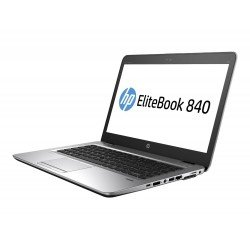 HP Elitebook 840 G1 14-inch Laptop (4th Gen Core i5/4GB/320GB/Windows 10 Professional/Integrated Graphics), Black
