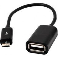 Micro High Speed USB OTG Cable OTG Cable  (Black)