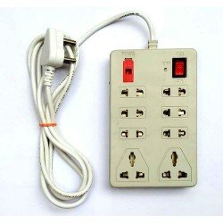 Mini Power Strip Power Strip in Plastic Body