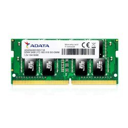 ADATA Premier AD4S240038G17-B 8GB DDR4 2400 MHz PC4-19200 SODIMM RAM Memory Module for Laptop