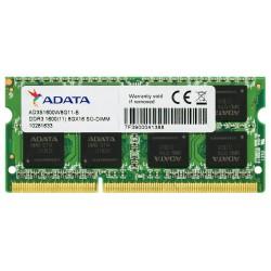 ADATA 8GB DDR3 1600MHz AD3S1600W8G11-R Laptop Memory