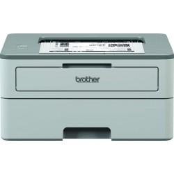 Brother HL-B2000D Mono Laser Printer with Auto Duplex Printing (Grey)