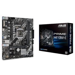 ASUS Prime H410M-E Intel PCIe 3.0 DDR4 mATX Motherboard with M.2 USB 3.2 Gen1 HDMI and SATA III 6Gbps ~